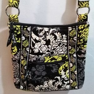 VERA BRADLEY BAROQUE HIPSTER CROSSBODY BAG